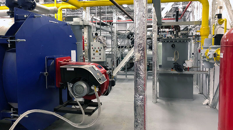 Организация технологического процесса работы объектов теплоснабжения