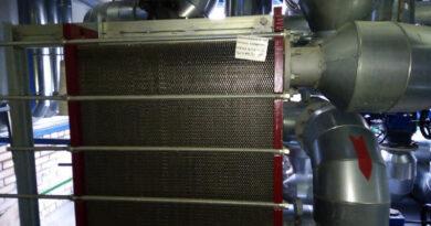 Оказание услуг по обследованию, чистке внутренних поверхностей теплообменников